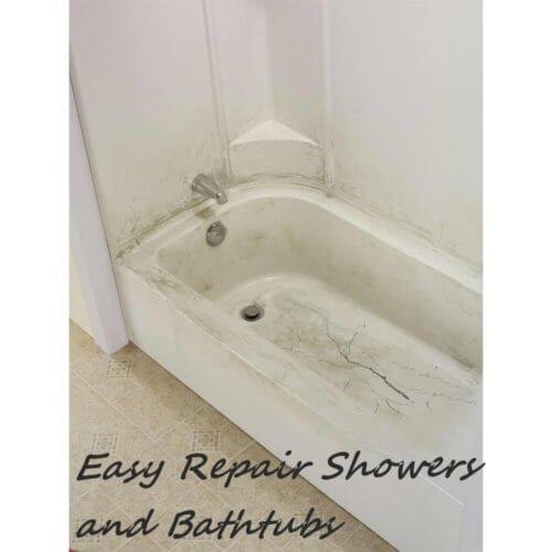 Easy Repair Showers and Bathtubs